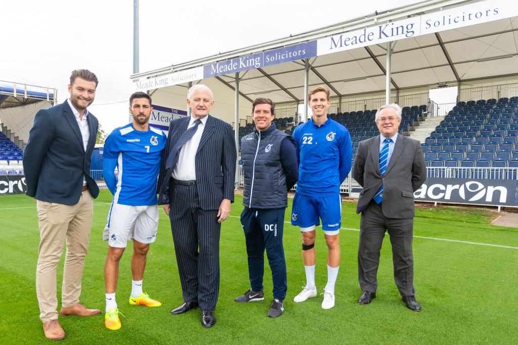 Bristol Rovers draw is a win for Meade King as it gets to sponsor stand at Memorial Stadium