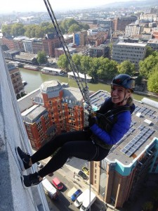 TLT staff go to great heights to raise funds for firm's charity of the year