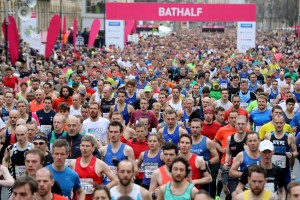 Bishop Fleming limbering up for centenary celebrations next year with Bath Half sponsorship