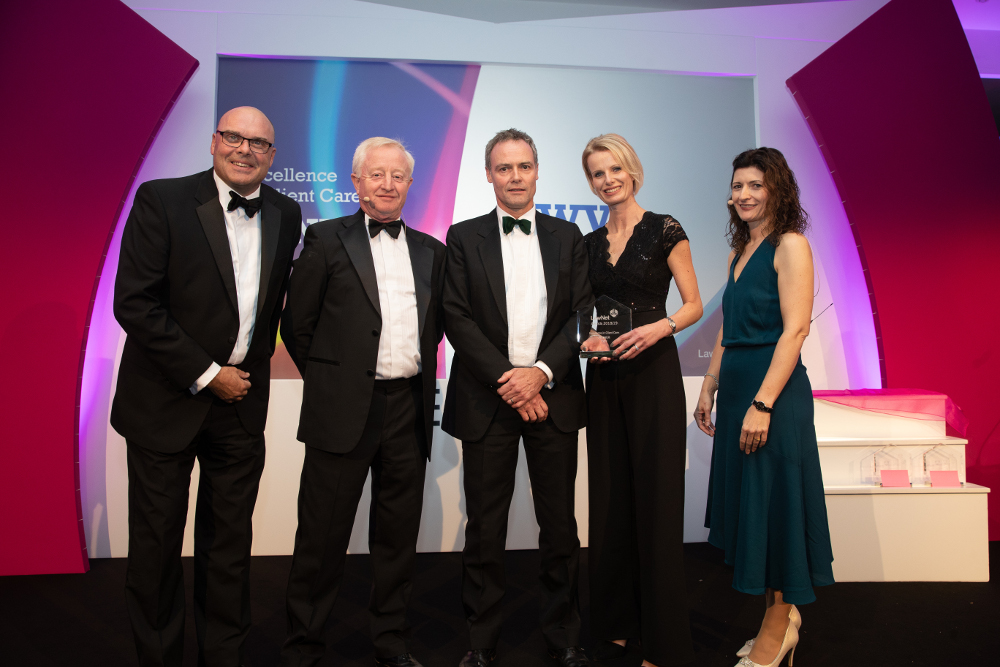VWV wins prestigious award for the high quality of its client care