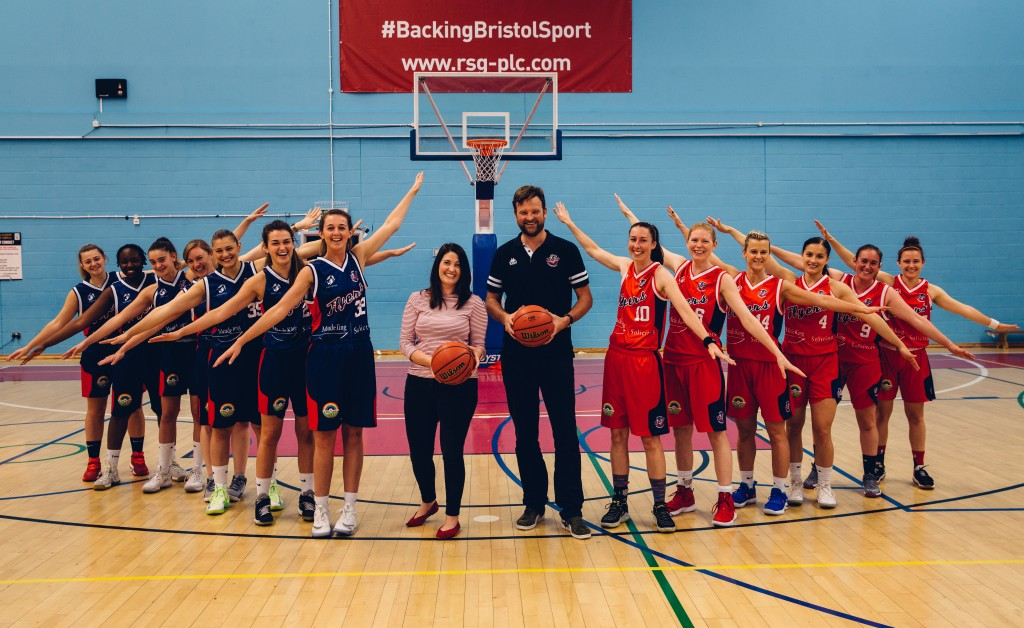 Bristol women's basketball team flying high with support from Meade King