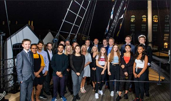 Bristol engineering firms help latest cohort of city's 'Future Brunels' get on board