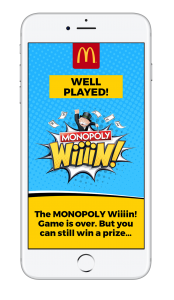 Armadillo CRM tastes victory in direct marketing awards for its McDonald's Monopoly Wiiiin! game