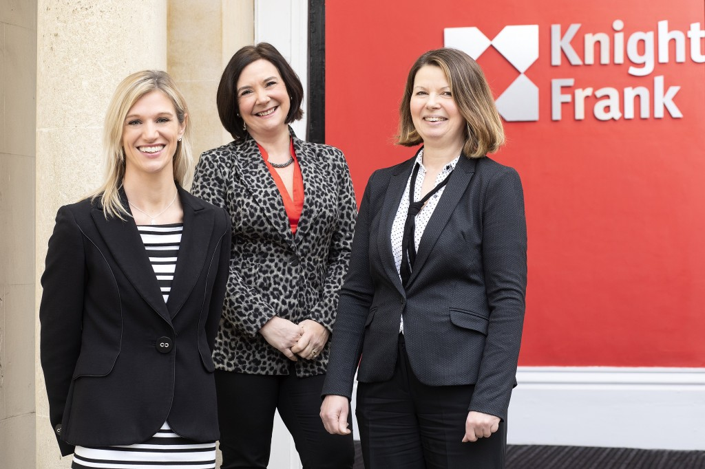 New team head and associate for Knight Frank's South West property asset management team