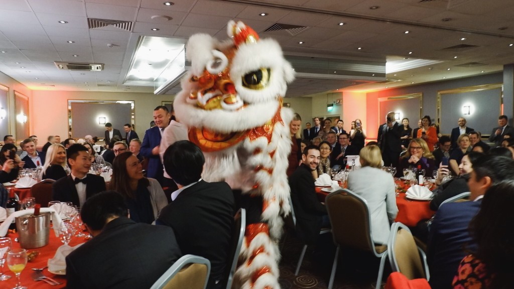 Stronger trade links on the menu at Bristol's traditional Chinese New Year business banquet