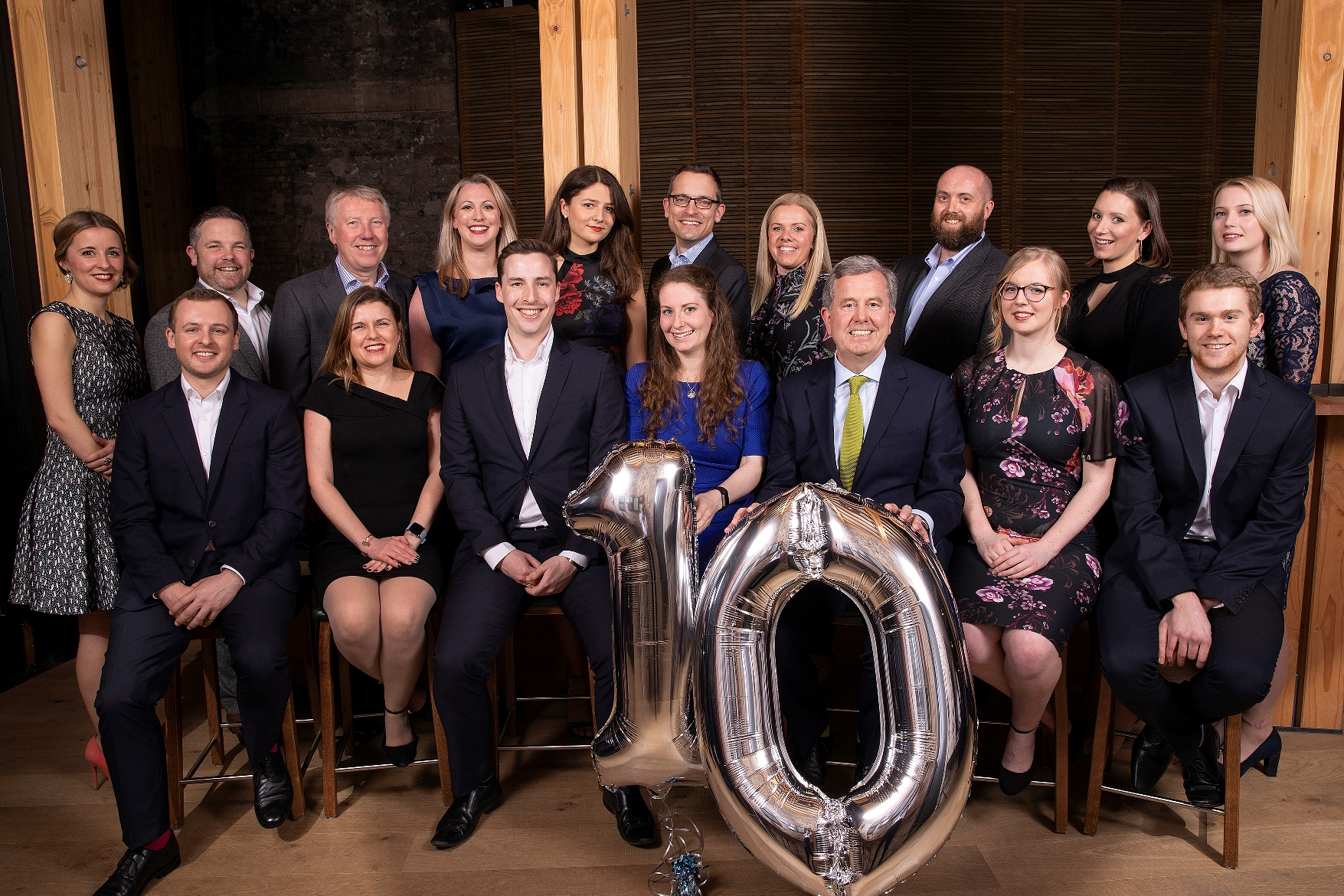 Friends and clients join accountants for firm's 10th anniversary dinner