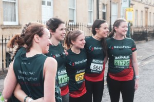 No half measures as 100-plus Bishop Fleming staff raise charity cash in gruelling 13.1km road race
