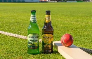 Thatchers bowled over as it is awarded official cider status for ICC Cricket World Cup