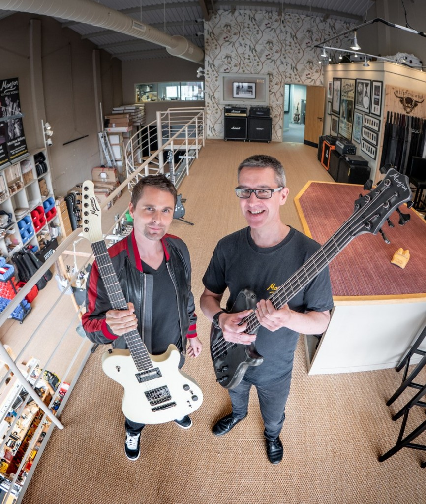 Ashfords' Bristol team act for guitar maker in majority stake sale to Muse frontman