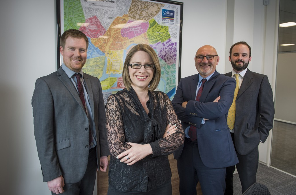 Trio of senior promotions boost Colliers International's Bristol office