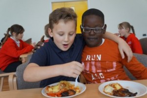 Eat your 'greens' in Bristol's restaurants and cafes to help prevent school holiday hunger