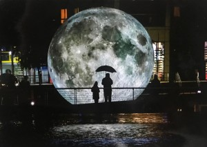 Bristol artist's Moon sculpture stars in 50th anniversary of Apollo landing celebrations
