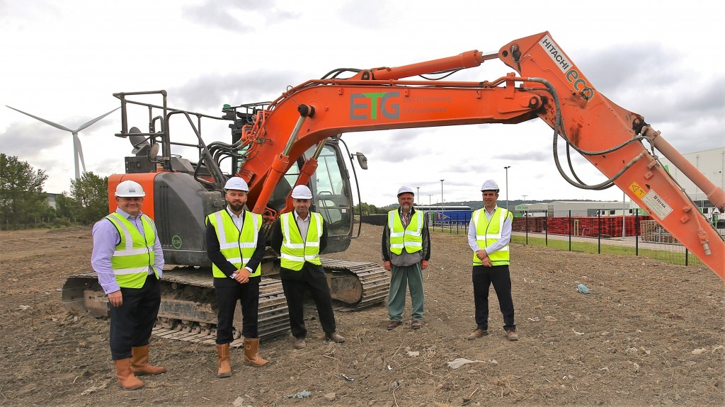 Industrial scheme underway at Avonmouth as race for space continues