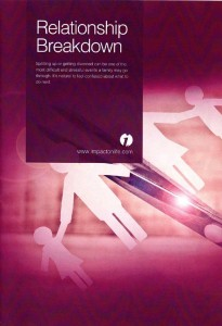 Guide produced by Gregg Latchams to help couples experiencing relationship breakdown