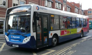 Dedicated free bus service is just the ticket for sustainable commuting at engineering group