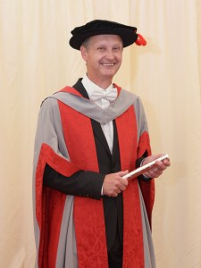 Honorary UWE doctorate for long-serving TLT managing partner