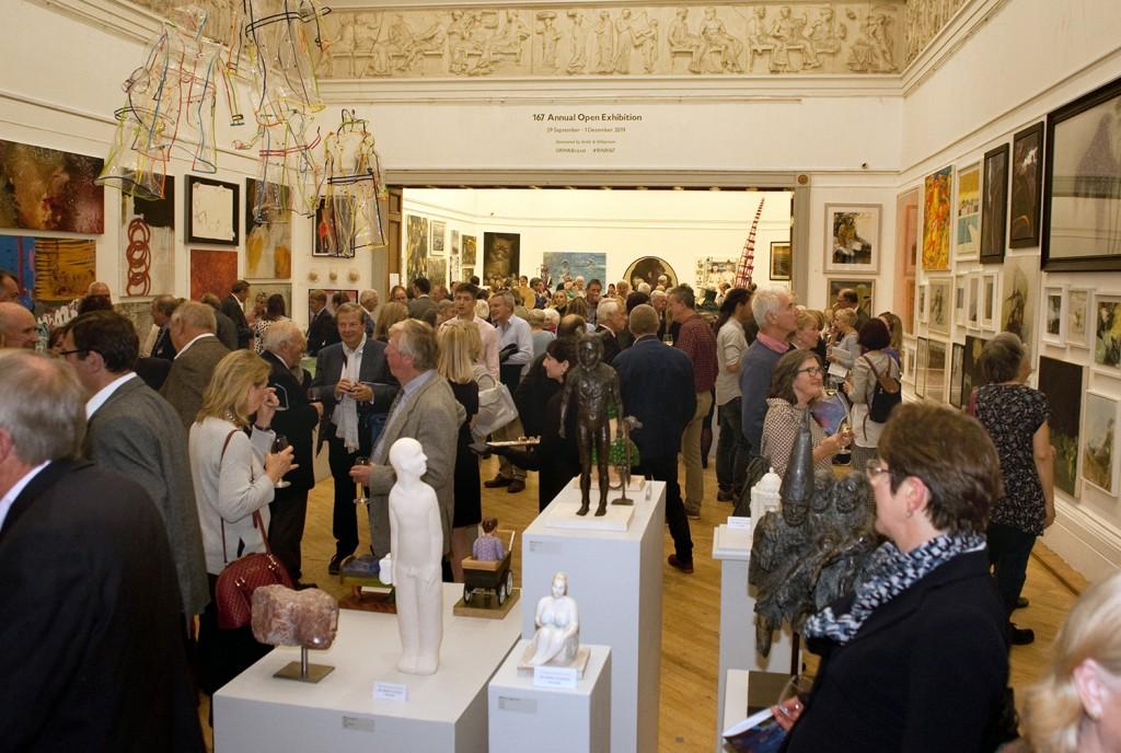 Smith & Williamson hosts prestigious reception for RWA's Annual Open Exhibition