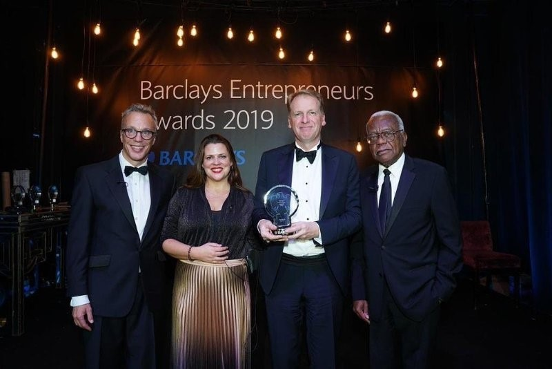 'Icon of the year' award for Bristol tech entrepreneur and co-founder of city's first unicorn