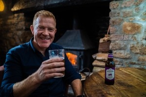 TV farmer toasts success of pale ale he created with Bristol brewery