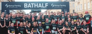 Bishop Fleming staff run, climb and cycle to beat centenary year fundraising target by £50,000