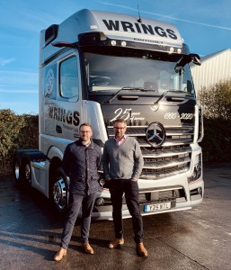 Family-owned haulier in fast lane for growth as it clocks up 25 years in business