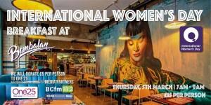 Bristol's diversity on the menu at International Women's Day Big Breakfast