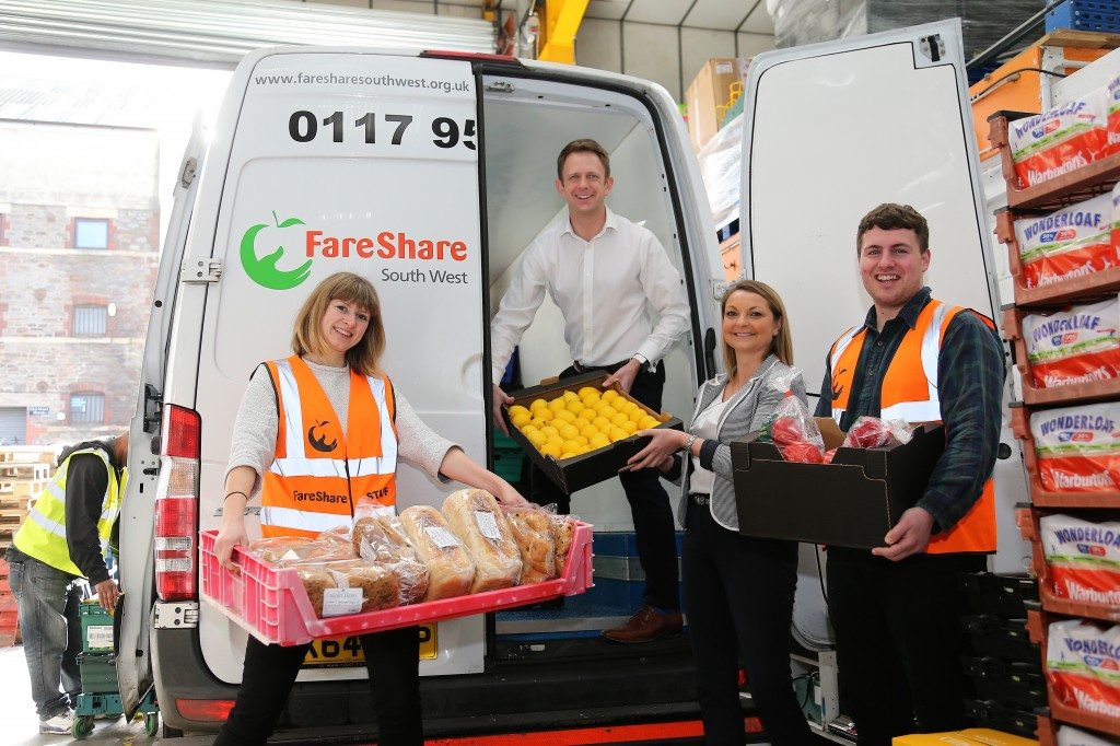 Colliers steps in to help FareShare after its annual fund-raising TRYathlon is cancelled