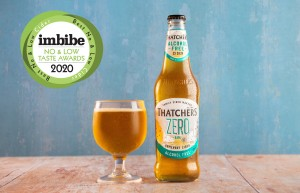 From Zero to hero. Thatchers' 0.0%-proof cider tastes success in no-and-low alcohol drink awards