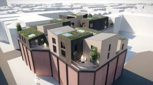 Pioneering independent living rooftop housing scheme proposed by Bristol homeless charity