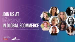 Event: Chance to hear how women are succeeding in global eCommerce in the age of Covid
