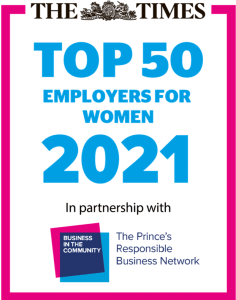 Burges Salmon named as one of the UK's top employers for women
