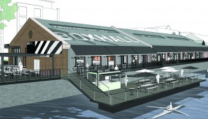 Empty Harbourside sheds to become major venue showcasing Bristol's indie food scene