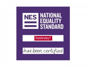 Foot Anstey earns highest legal sector score in its reaccreditation for National Equality Standard