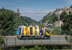 More food waste-powered trucks 'buzz' onto region's streets as cafés and offices aim for carbon neutral