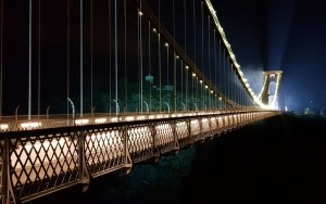 Suspension Bridge to turn blue for one night in fundraising campaign backed by Bristol firms
