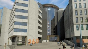 Refurbishment work on major office building nears completion as market mounts strong recovery