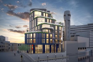 Landmark 11-storey office scheme planned for high-profile site next to Floating Harbour